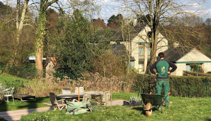 Que coûte un jardinier en Belgique?