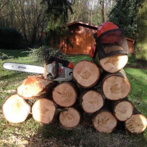 Preparation du bois de chauffage - LBO SERVICES